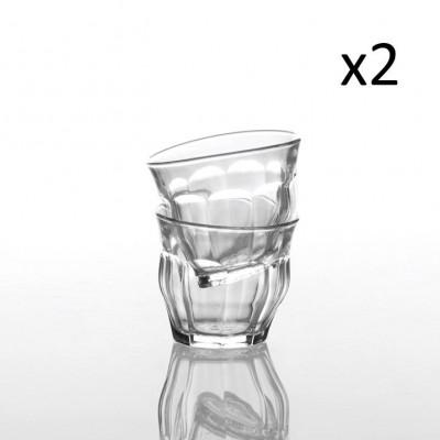 Tipsy Classic 25 cl - Schachtel mit 2 Gläsern   Klar