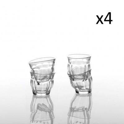 Tipsy Mini 9 cl - Schachtel mit 4 Gläsern | Klar