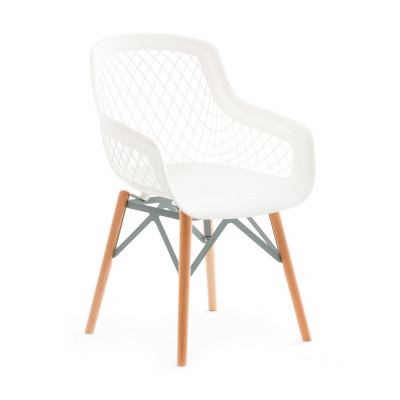 Chair Clear Style | White