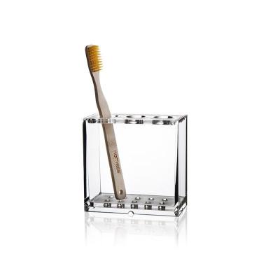 Zahnbürstenhalterung klar