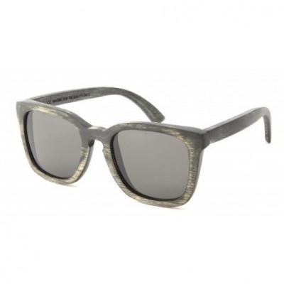 Clever Wooden Sunglasses   Vintage Black