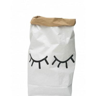 Papieraufbewahrungstasche | Geschlossene Augen