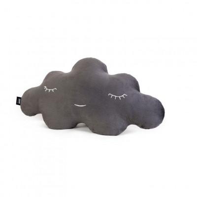 Wolkenweiches Kissen | Grau