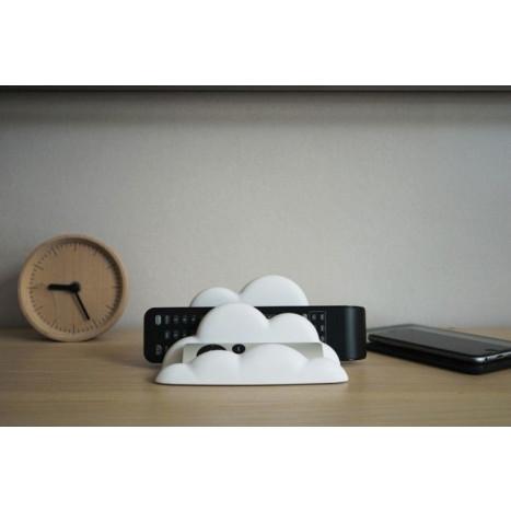 Telefonständer-Wolke   Weiß