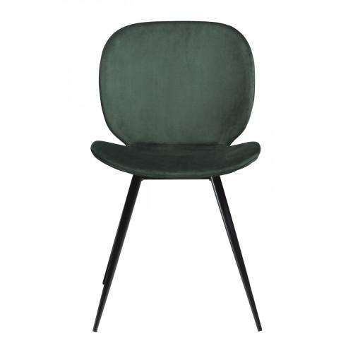 Chair Cloud Velvet   Green