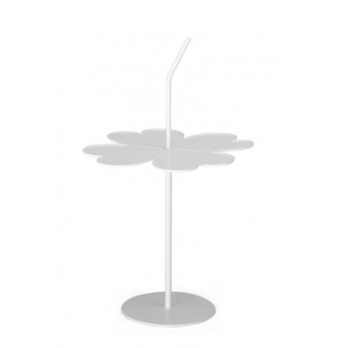 Side Table Clover   White
