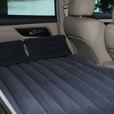 Inflatable Car Air Bed | Grey