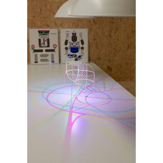 CMYK Up Lampe