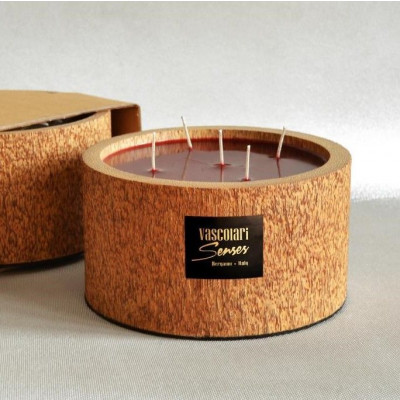 Palm Wood Candle 5 Wicks | Exotic Fruits