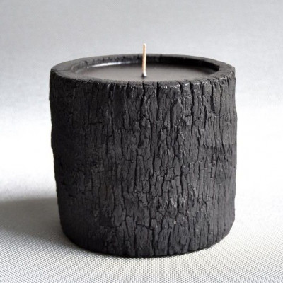 Burned Palm Wood | Water Flowers