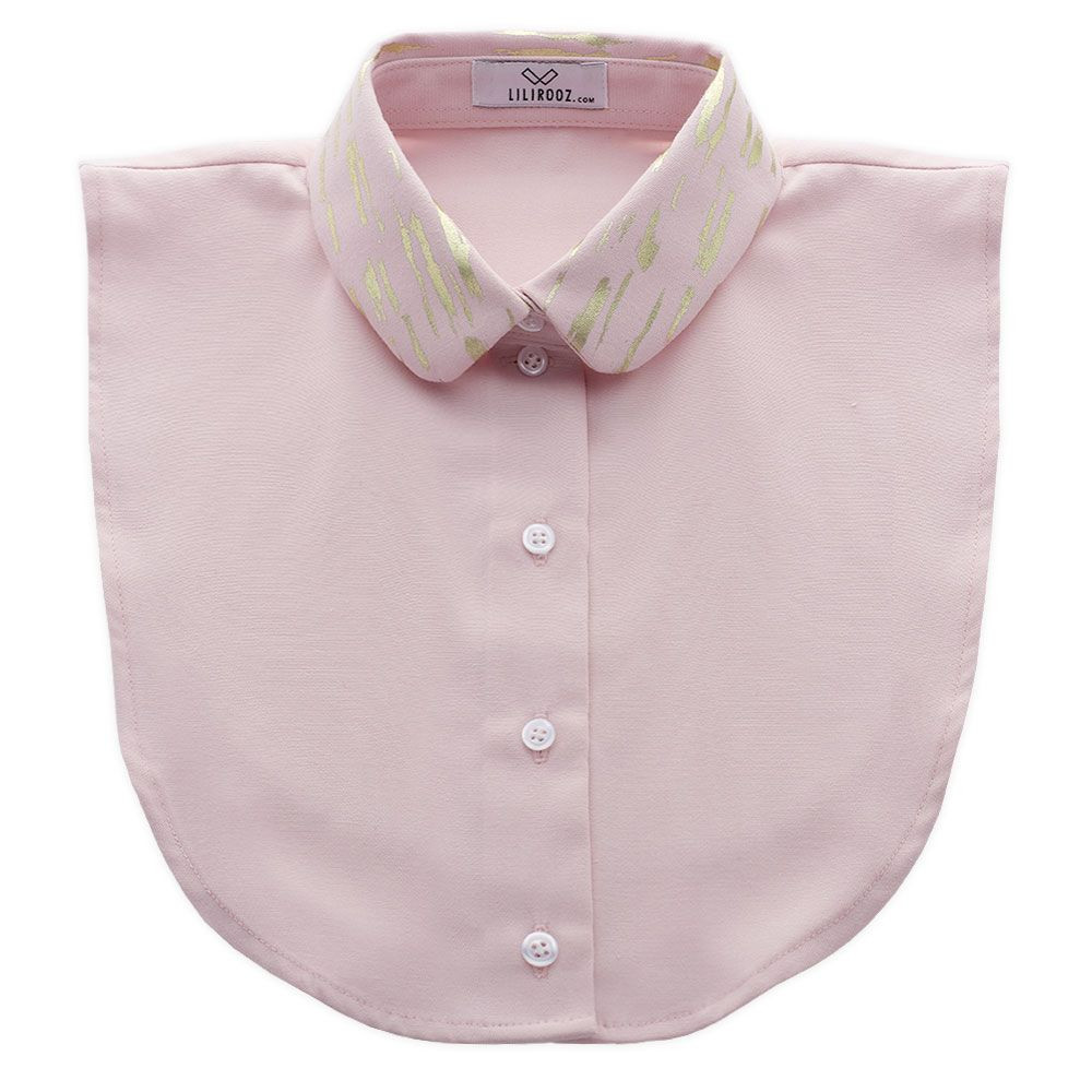 Collar 11   Old Rose - Round - Gold