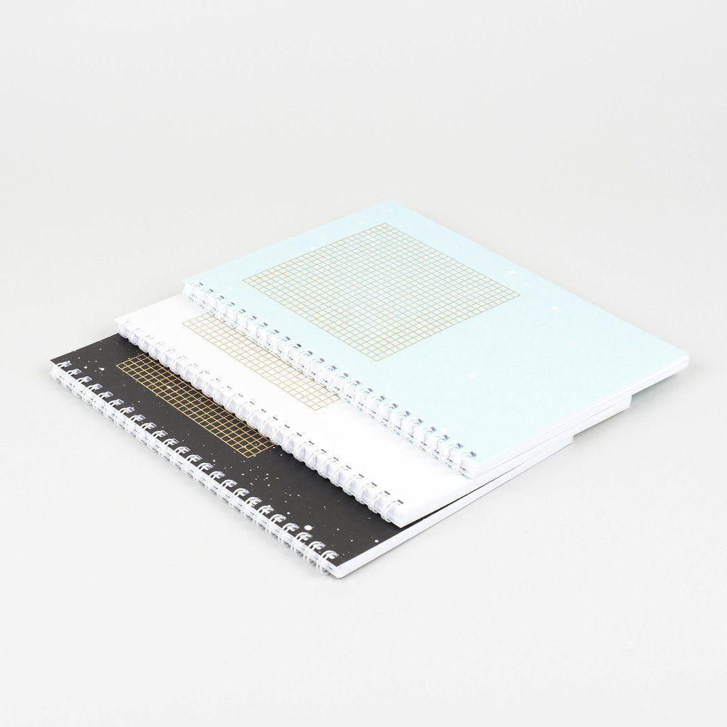 Cosmonauts Notebooks   Set of 3
