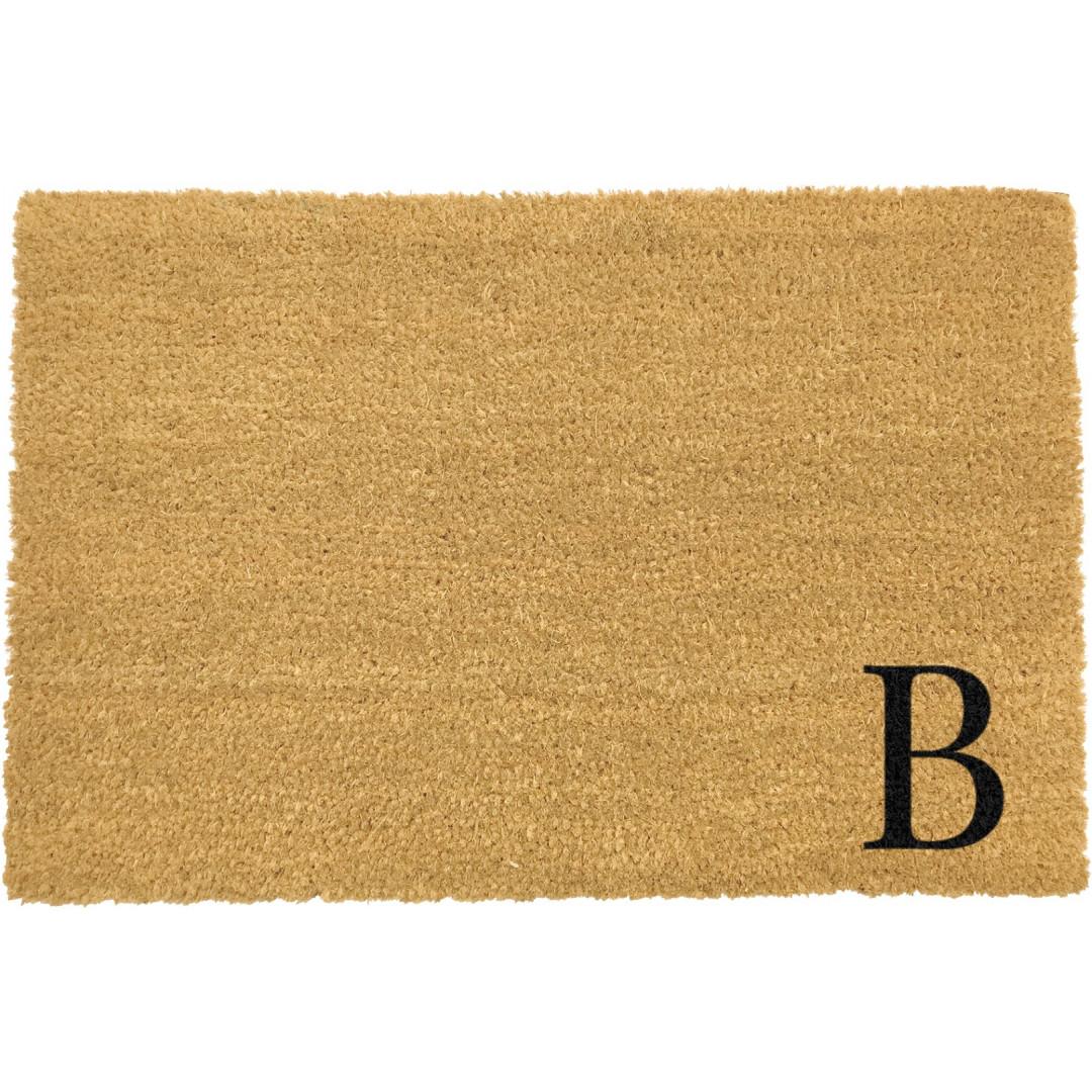 Fußmatte Doormat Monogram Corner Straight | B