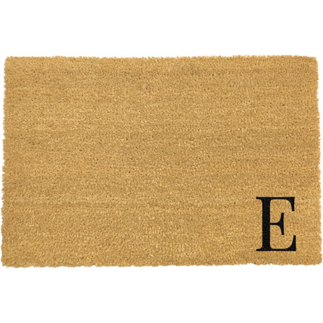 Fußmatte Doormat Monogram Corner Straight | E