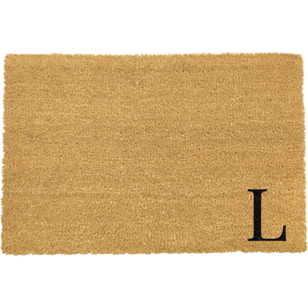 Fußmatte Doormat Monogram Corner Straight   L