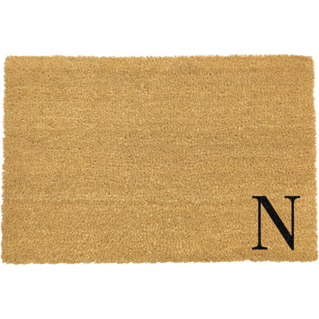 Fußmatte Doormat Monogram Corner Straight   N