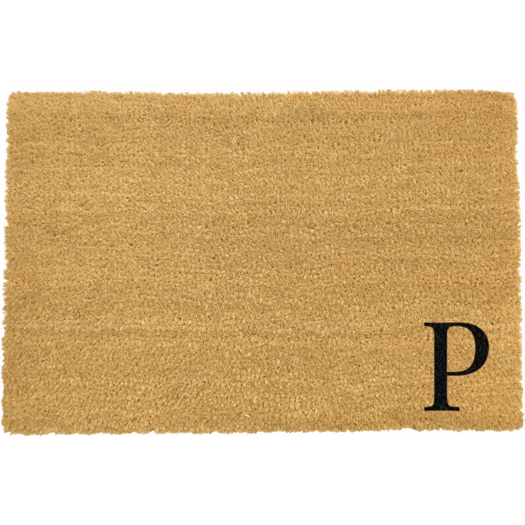 Fußmatte Doormat Monogram Corner Straight   P