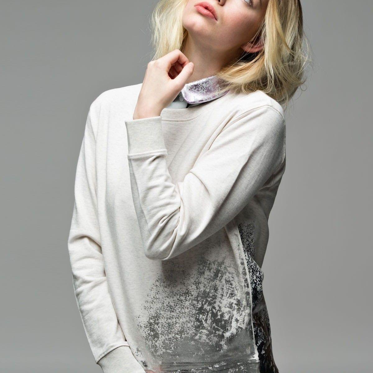 Sweater | Light Grey - Silver - Loin