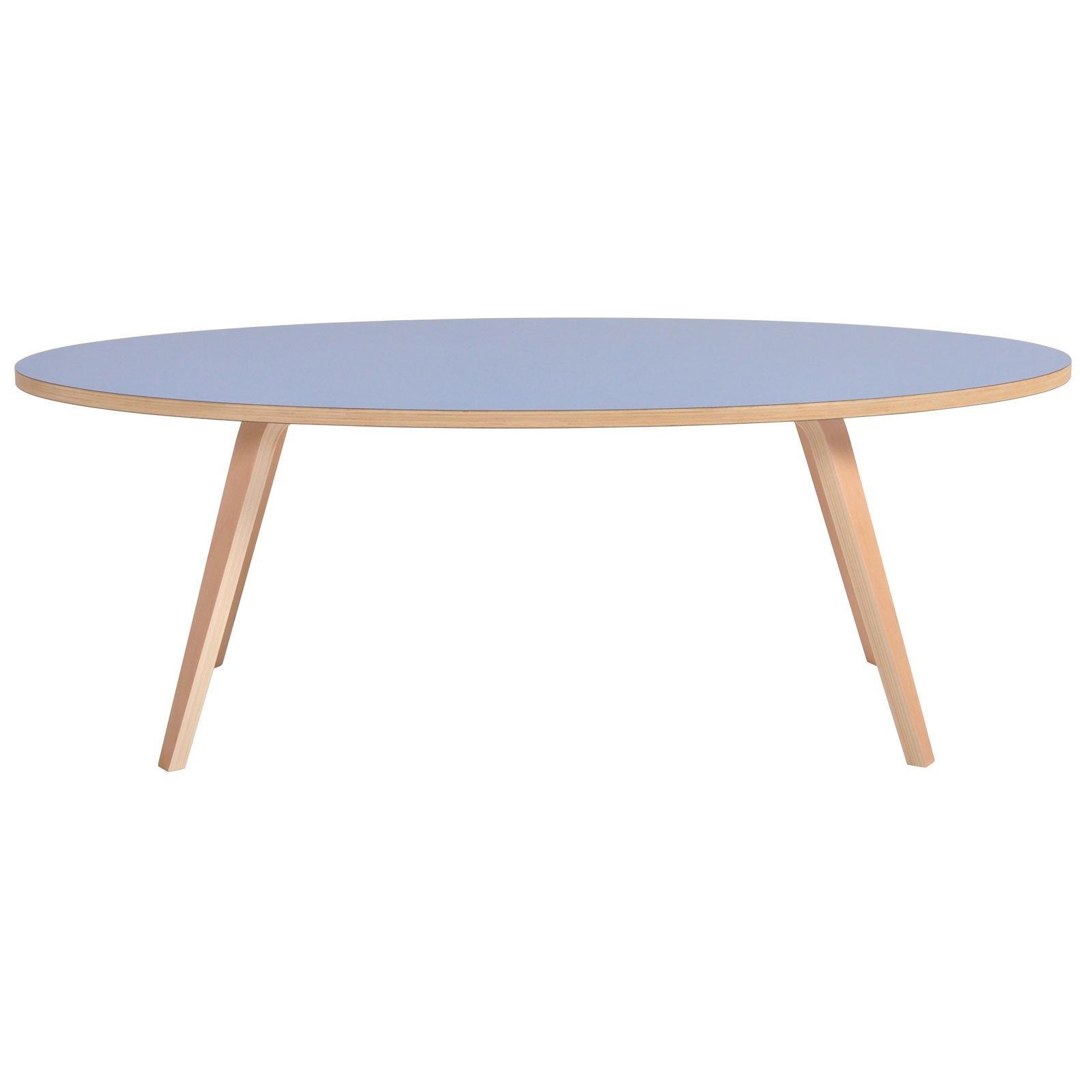 Coffee Table Arvika Oval | Blue