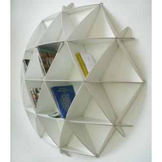 Comb Bookshelf | White - Small