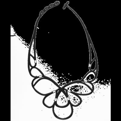 Ce Soir Necklace | Black