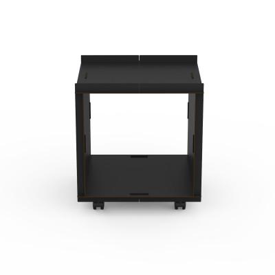 Doppelseitige offene Box auf Rädern comp_Aerkit | Schwarz