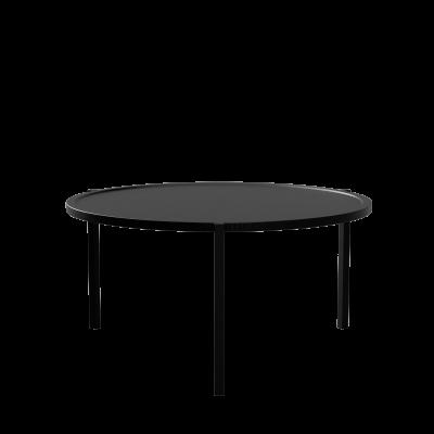 Couchtisch Ø90 | Schwarz