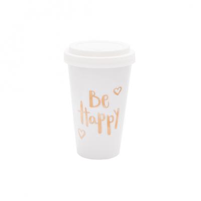 Mug To Go | Be Happy