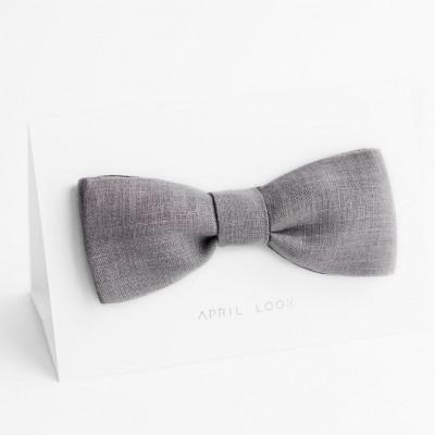 Reversible Bow Tie | Grey