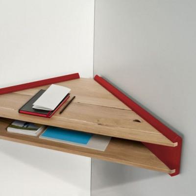 Briccola-ge Schreibtisch/Regal   Rot