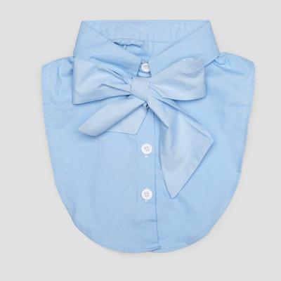Kids Collar   Baby Blue Bow