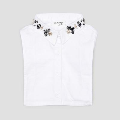 Kids Collar   White Diamond