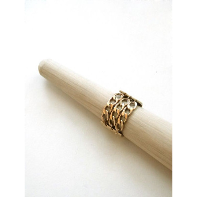 Cologne Ring | Gold-plated
