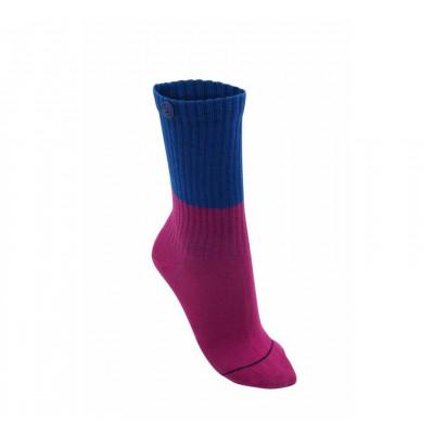 Colour Block Women Socks | Orchidee Violett