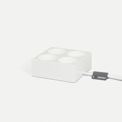 Mehrfach-Steckverbinder | Weiß
