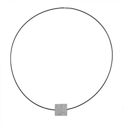 Halskette CONSTRUCTIONS | Grau & Schwarz