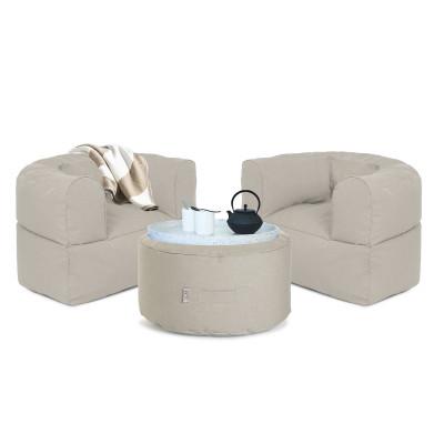 Outdoor Lounge-Set Conversation | Beige