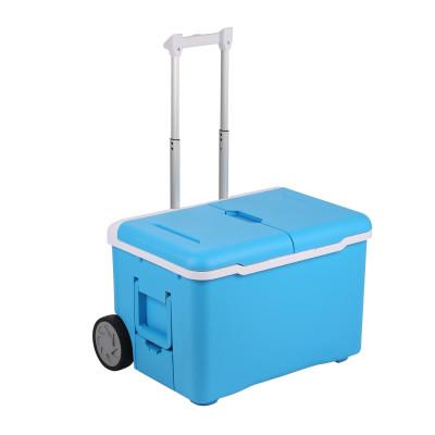 Intelligente tragbare Kühlbox mit Bluetooth-Lautsprecher   Blau