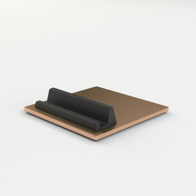 Telefon- und Tablettenhalter-Fliese | Kupfer