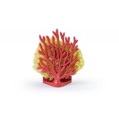Schwammhalter Koralle | Rot