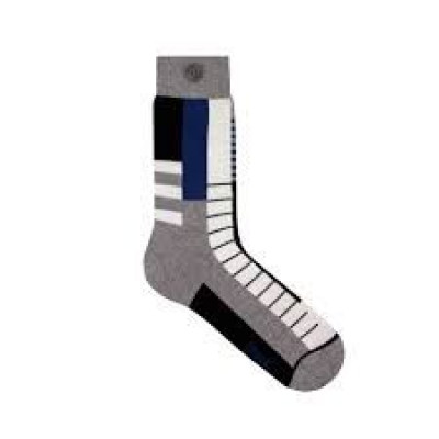 Corbusier Socks | Grey Melange