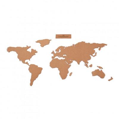 Korkplatte Karte