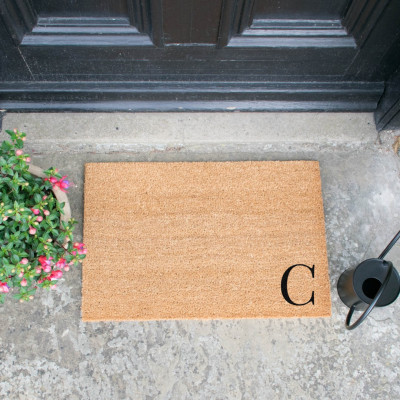 Fußmatte Doormat Monogram Corner Straight   C