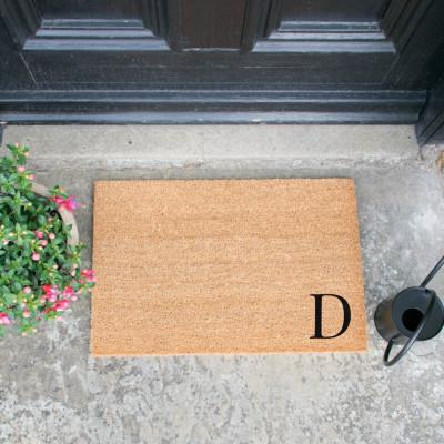 Fußmatte Doormat Monogram Corner Straight   D