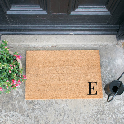 Fußmatte Doormat Monogram Corner Straight   E