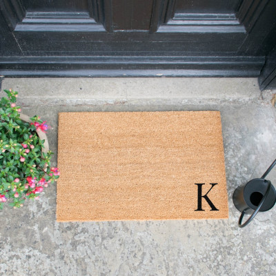 Fußmatte Doormat Monogram Corner Straight   K