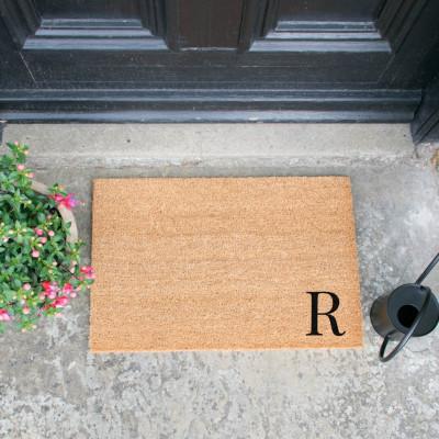 Fußmatte Doormat Monogram Corner Straight   R