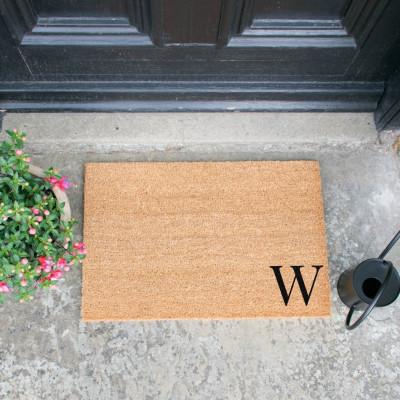 Fußmatte Doormat Monogram Corner Straight   W