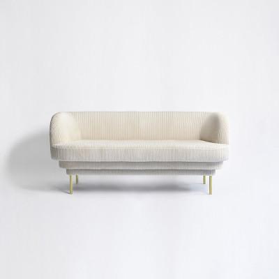 Sofa CORNICE LINCOLN | Brass Legs