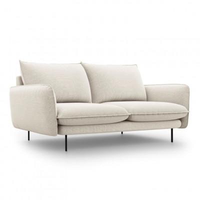 Sofa VIENNA   2 Sitze   Hell Beige